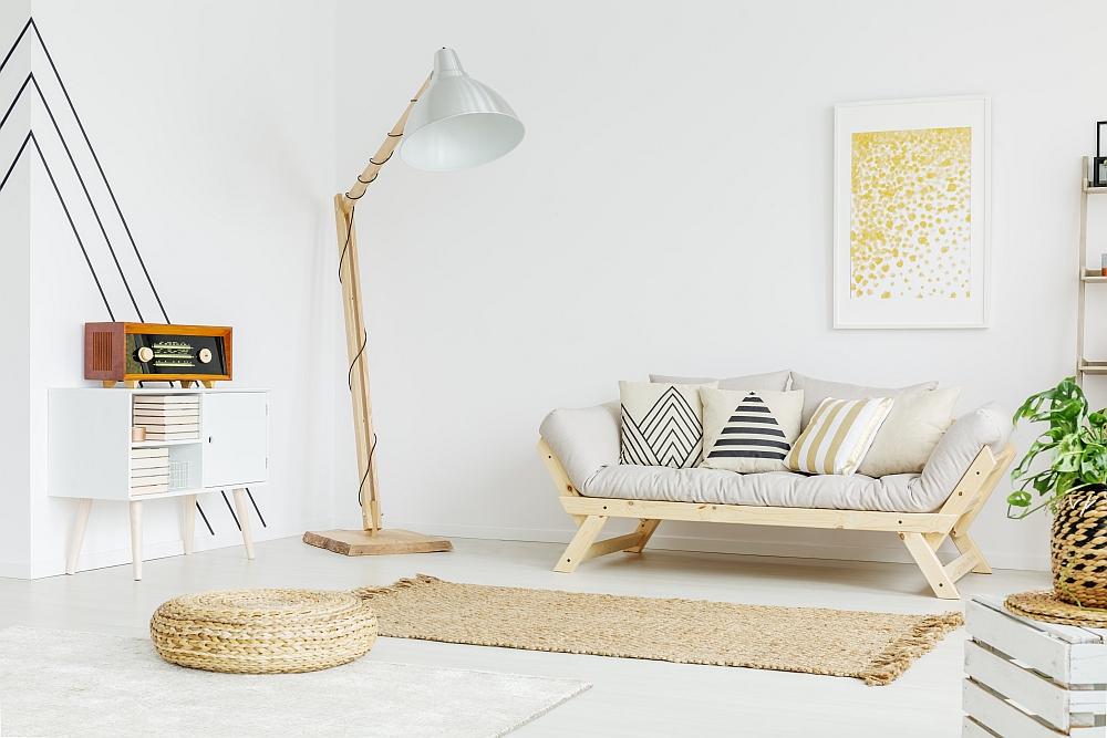 Jak lampy mogą modelować wnętrze salonu?